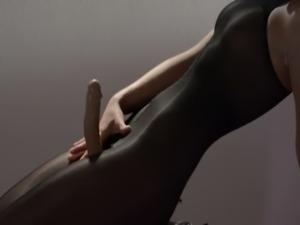 Hot princess in pantyhose masturbate free