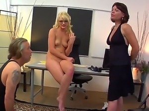 Zoey gets naked and has her cute feet and pussy licked out by Tom while she...