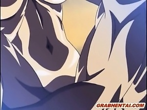 Blonde hentai with huge fucking bouncy tits gets hardcore fucked