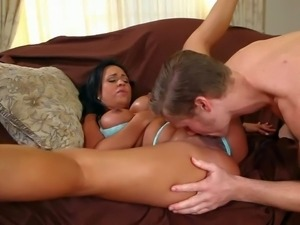 Experienced long haired cougar sexy Mariah Milano with big firm tits and...