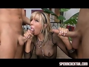 Chastity Lynn gulps down cumloads like they are nothing
