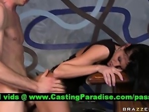 Sea Raw brunette pornstar punished