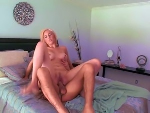 Young pale blonde Victoria White great hunger for cock has wild sixty nine...