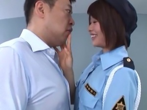japanese customs officer gives hot head