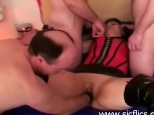 Extreme arabic milf loves being gang banged and fisted by groups of men till...