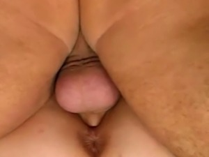 Hot milf gets her pussy and asshole licked before she takes her husbands hard...