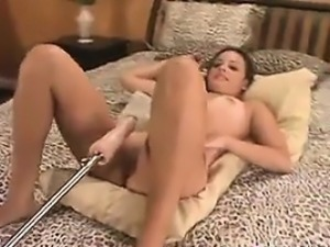 Cute Girl Fucked By A Machine