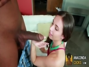 Amateur Brunette Takes A Big Black Dick 0001 free