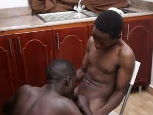 Ethnic black africans love sucking cock