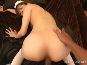 i get to fuck this sexy maid