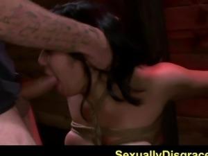FetishNetwork Mia Li bound tightly and punished hard