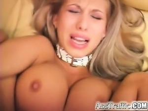 Busty Clara shows off her big natural tits and firm ass.