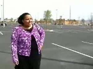 BBW Taylor picked up from a parking lot