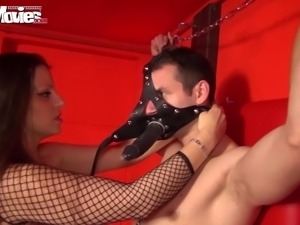she whips her two slaves
