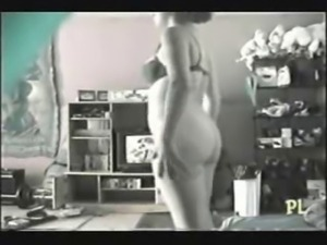 NOT My sister rubbing pussy watching a porno. Hidden cam