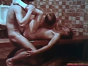 3 hot guys suck mean cock then fuck eachother in a bathroom!