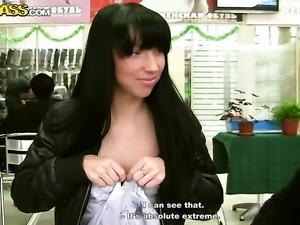 Brunette hooker Darina gets anal satisfaction