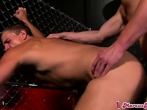 Riley Price pounds the bartender's ass  until they both cum