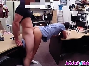 Sexy chick got fucked from behind
