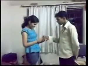 Desi lover friends proposes and enjoys their first sex session on cam free