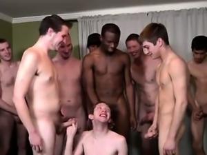 Gay movie The Bukkake Boys were amazed with his oral skills