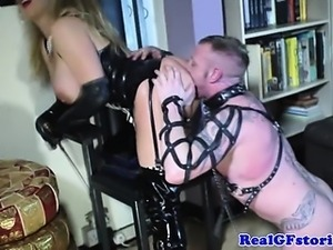 Kinky cougar milf rimmed and pussyfucked
