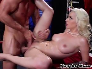 Stevie Shae fucked up close and hard