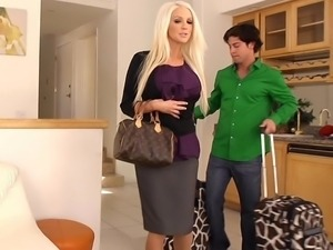 Holly fucking her new assistant