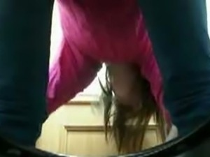 Shots of random babes clits peeing in the toilet