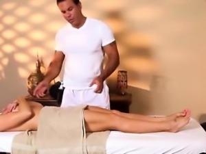 Sexy boobs massage action