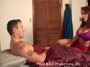 Mom and son creampie free