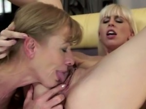 Alexa Wild and Katherin lesbian mature granny