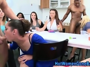Amateur cfnm dick blowing party