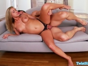 Kennedy Leigh shows her bj skills and teases us with her non existent panties