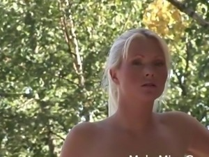 Kathy Anderson and her friend fuck the big rod