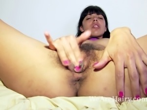 Fanny loves to show off, and after a call she does just that. Her purple...