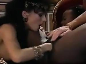 Ebony Slut Fucked And Fisted