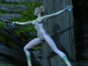 Surreal 3D Hentai Elf Blowjob RPG Fantasy