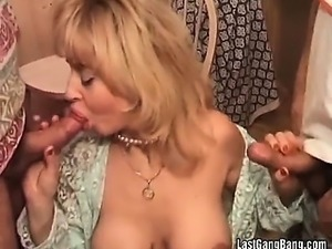 Big cocks and strap on fun for hot milfs