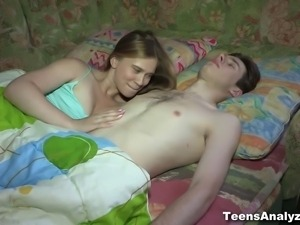How can this insatiable teeny get more sex when her boyfriend is already...