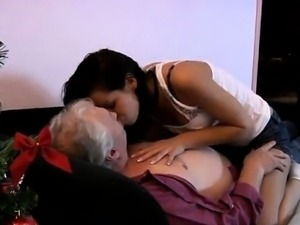 Bruce a filthy old dude enjoys to fuck young nymphs like Pet