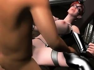 Busty 3D hentai