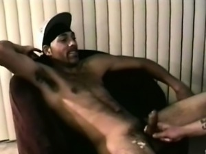 Real straight dude being anally drilled by kinky hunk DILF