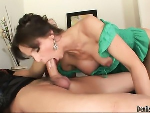Syren De Mer gets her booty attacked by Chris Johnsons sturdy fuck stick...