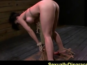 FetishNetwork Kimmie Lee tied and fucked hard