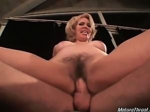 Horny mature slut with pretty face is so nasty with this