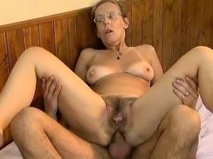 Mature housewife having an orgasm part5