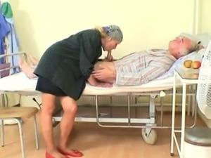 Old czech couple hospital fuck