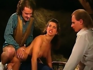 Horny lumber jack is cock sucked part1