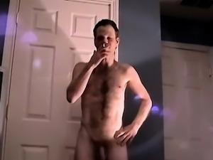Gay guys Hairy Bi Guy John Strokes